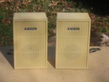"""A Pair of Fisher Price 8 ohm 5 1/4""""Full-Range Speaker Systems In Good Condition!"""