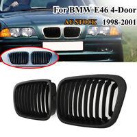 Front Kidney Grille Grill Fits BMW E46 3 Series 4 Door 316i 318i 323i 320i 320d