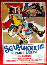LOVES AND TIMES OF SCARAMOUCHE 1976 URSULA ANDRESS CASTELLARI EXYU MOVIE POSTER