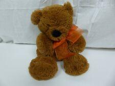 Ty 2006 Teddy Bear Brown Plush Stuffed Animal 100% Silk Toy