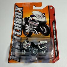 2014 Matchbox #73 Bmw R1200 Rt-P Police Motorcycle -New