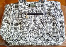 Bella Russo Reversible Tote Bag, Floral & Dots, Brand New without Tags
