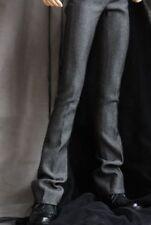"""Suit Pants Dark Gery Trousers For Men BJD 1/4 17"""" MSD AOD AS DD Luts dollfie"""