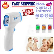 Sin contacto termómetro infrarrojo Bebé Frente LCD Temperatura Corporal fiebre #
