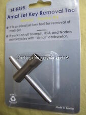 stainless steel Amal 622/104 CARBURETTOR main JET KEY for easy main jet removal
