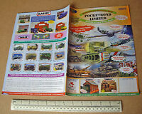 2004/5 Pocketbond World Wide Kit Catalogue Planes Boats AFVs Cars Lineside etc