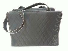 Mary Kay Large Black Consultant Handbag Pink Stitching Travel Bag Career Tote