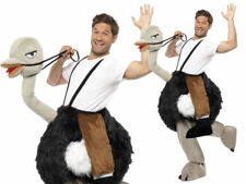Ostrich Costume Ride On Adults Emu Animal Fancy Dress Novelty Outfit