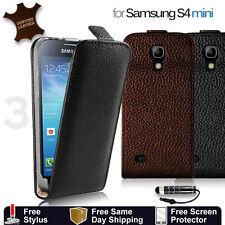 Markenlose Handy-Taschen & -Schutzhüllen aus Leder für das Samsung Galaxy S4