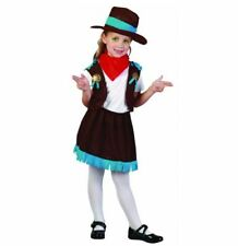 Kids Cowgirl Toddler Costume Gangster Fancy Dress Outfit Girls Rodeo Wild West