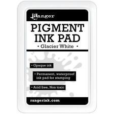 Ranger Pigment Ink Pad-glacier White -rpp-43089