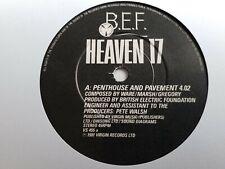 "Heaven 17 - Penthouse And Pavement 7"" Vinyl Single"