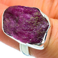 Ruby Fuchsite 925 Sterling Silver Ring Size 6 Ana Co Jewelry R40491F