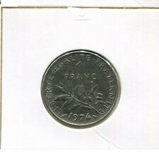 1 FRANC 1974 FRANCE French Coin #AK549UW