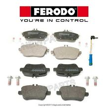 For Mercedes W117 CLA250 4Matic Set of Front & Rear Brake Pads & Sensor Ferodo