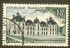 """FRANCE TIMBRE STAMP N°980 """"CHATEAU DE CHEVERNY"""" OBLITERE TB"""