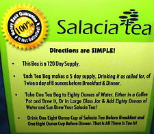 1 SALACIA TEA, BEST DIET & WEIGHT LOSE, CONTROLS DIABETIES #1 DOCTOR RECOMMENDED