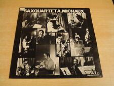 SAXQUARTET A. MICHAUX / JAZZ LP