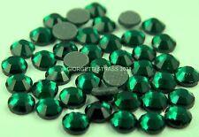 STRASS MC Stone collection 1440pz SS20 5mm Verde scuro hot fix smeraldo emerald