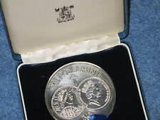 1986 Royal Mint 1100 Years in Minting Sterling Silver Medal B9443