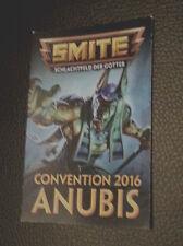 Smite - Exclusiv Gamescom - Convetion 2016 Anubis Skin Code (Gamescom 2016)