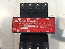 Acme Electric Machine Tool Transformer Type #TA-1-81210