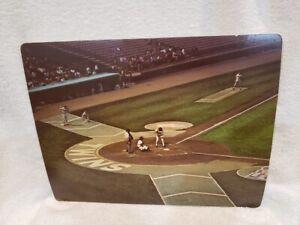 ULTRA RARE Minnesota Twins 1973 Lerner Publishing 11x14 Card #1, Met Stadium!!