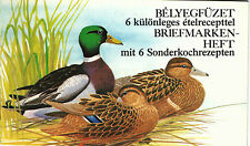Hungary 1988 . Animals / birds / ducks wonderful stamp booklet GERMANY MNH (**)