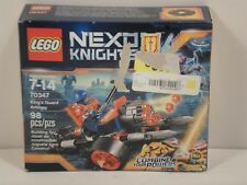 New LEGO Nexo Knights King's Guard Artillery 70347 NISB Free Shipping