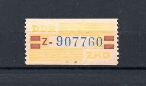 DDR Dienstmarke B Nr.25 ** Kennbuchstabe Z    geprüft BPP