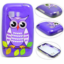 Bird Pattern Silicone Rubber Case Cover For Samsung Galaxy Young 2 Duos SM-G130