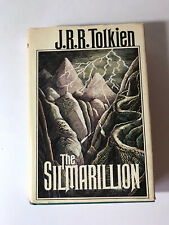 1977 The Silmarillion by J.R. Tolkien First American Edition Dust Jacket b