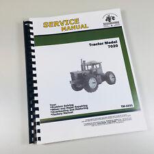 Service Manual For John Deere 7020 Tractor Technical Repair Shop Book Ovhl