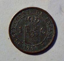 España/españa 1 centimo 1906-alfonso xiii-ss-vz/vf-XF reciben