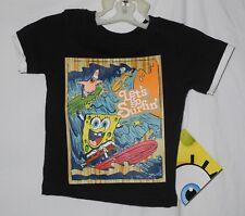 NEW Baby Toddler Spongebob Surfin T Shirt Viacom Nickelodeon FREE SHIP