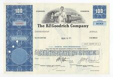 B.F.Goodrich Company Stock Certificate