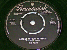 """7"""" - The Who Anyway Anyhow Anywhere & Daddy Rolling Stone - UK 1965 # 6033"""