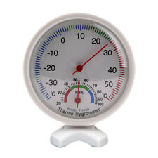 Round Indoor Analog Humidity Temperature Meter Gauge Thermometer Hygrometer IK_