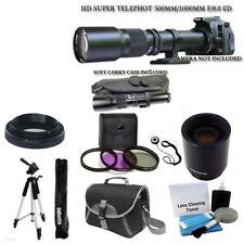 500mm 1000mm TMount Telephoto Lens for Nikon D3200 D5200 D7100 D7000 DSLR Camera