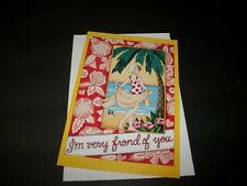 "Mary Engelbreit Birthday Greeting Card ""Fond Of You"" (for all) New #812"