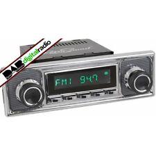 Retrosound San Diego Chrome Classic Car Stereo DAB Digital Radio USB Bluetooth