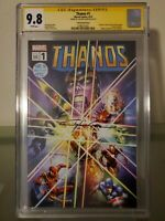 Thanos #1 Crain Variant CGC 9.8 Signed by Clayton Crain