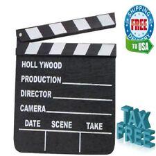 Hollywood Movie Tv Scene Film Director Black Action Clapper Board Frame Prop 7x8