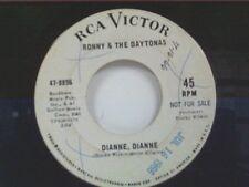 """RONNY & DAYTONAS """"DIANNE DIANNE / ALL AMERICAN GIRL"""" 45 PROMO"""