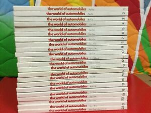 The World of Automobiles An illustrated History of the Motor Car Volumes 1-22