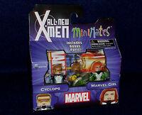 Marvel MiniMates Series 59 All New X-Men CYCLOPS & MARVEL GIRL Figure 2 PK