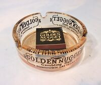 Vintage Casino Ashtray Golden Nugget Promo Ashtray & Matchbook L18