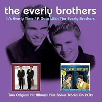 THE EVERLY BROTHERS - IT'S EVERLY TIME/A DATE WITH THE EVERLY BROTHERS NEW CD