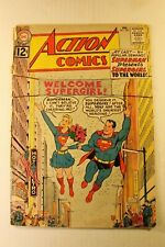 Action Comics # 285  Key Issue Superman presents Supergirl loose Cover complete