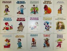 ValueTales 15 HardBound Books 1st Edition Danbury Press Homeschool Ann Johnson